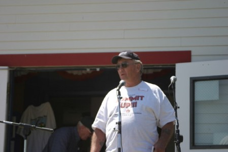 Gary Crisp ~ dedication of new baseball field